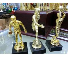 FIGURES, MEDALS AND TROPHIES (QUALITY PRODUCTS)