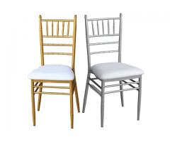 TIFFANY CHAIRS,PHOENIX CHAIRS,WIMBLEDON CHAIRS, ROUND TABLE