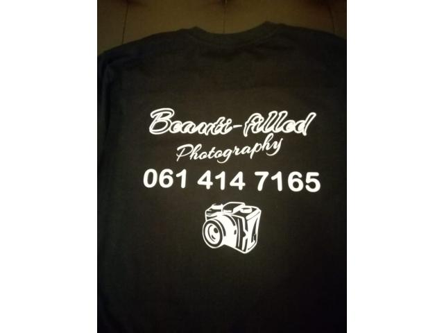 Customized Chrome STICKERS and Family T shirt Printing Sets - 2/4