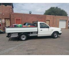DROPSIDE BAKKIE FOR HIRE WITH DRIVER