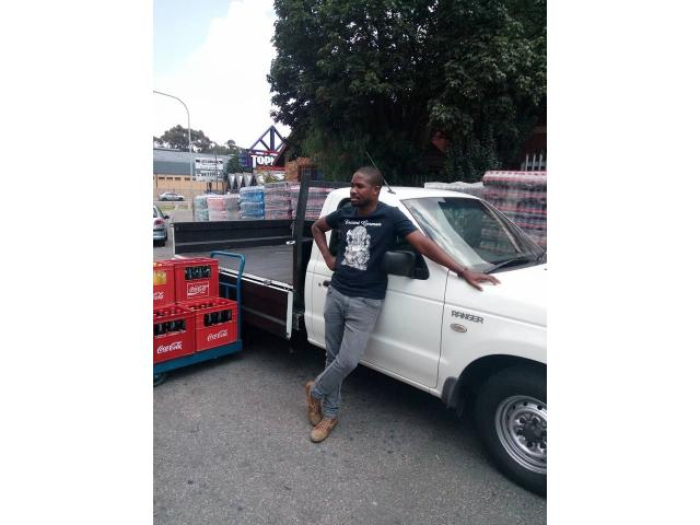 DROPSIDE BAKKIE FOR HIRE WITH DRIVER - 4/4