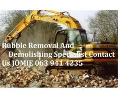 Demotions and rubble removals