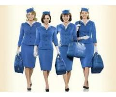 Air Hostess/Flight Attendants and cabin crew staff no exp